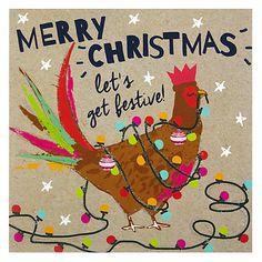 Buy Hammond Gower Pheasant Christmas Card Online at johnlewis.com