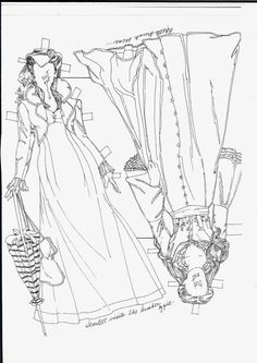 196 best gone with the wind paper dolls images on pinterest in 2018
