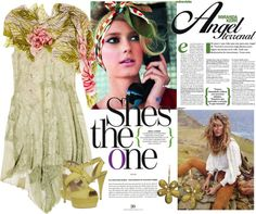 Natures Girl, created by shaley1 on Polyvore