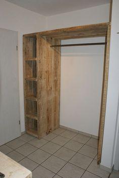 Garderoben - Bauholz-Garderobe - ein Designerstück von timberclassics bei DaWanda