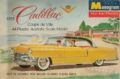 Cadillac kit by Monogram