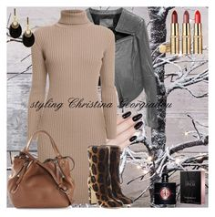 Untitled #157 by christina-geo on Polyvore featuring Rumour London, Linea Pelle, Dolce&Gabbana, Burberry, Alexis Bittar, Yves Saint Laurent and ncLA