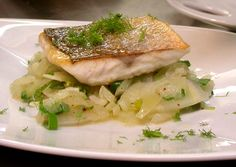 Discover a great Pan Fried Sea Bass Recipe: How to Pan Fry Sea Bass Fillets. Roasted Sea Bass with Fennel & Onions Garnish CLICK HERE to learn more.