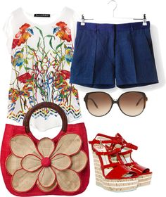 """ready to summer"" by chiclover-628 ❤ liked on Polyvore"