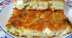 Κολοκυθόπιτα πεντανόστιμη με υπέροχη τραγανή κρούστα !!!😋 Υλικά 4 κούπες κολοκύθι τριμμένο και στραγγισμένο 1 κούπα ελαιόλαδο 1 κούπα... Cheese Pies, Savory Tart, Quiche, Food And Drink, Breakfast, Menu, Vegetarian, Bread, Snacks