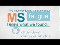 Great short film about fatigue in MS. Very simple but hits the nail on the head.