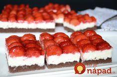 Tento koláčik je skutočným sladkým pokušením a môže za to úžasne chutná kombinácia tvarohového krému, kakaového cesta a jahôd.…