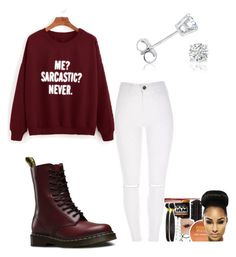 """""""Untitled #307"""" by aries25 ❤ liked on Polyvore featuring Dr. Martens and Amanda Rose Collection"""