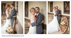 The Farm at Ridgeway | Ridgeway, South Carolina | Sleeveless Bridal Gown | Wagon Wheel | Rustic Wedding