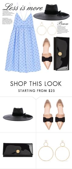 """Wedding Day"" by bianca1408 ❤ liked on Polyvore featuring Maison Michel, H&M, Jimmy Choo and Natasha Schweitzer"