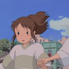 Manga Anime, Fanarts Anime, Otaku Anime, Anime Art, Manga Girl, Anime Girls, Studio Ghibli Art, Studio Ghibli Movies, Spirited Away Anime