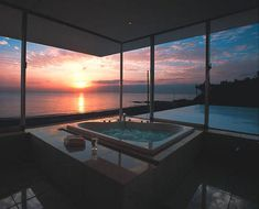 The perfect end to a hard-fought day is a view like this one. Jacuzzi optional, but we'll take it.