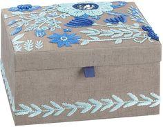 lennon u0026 maisy tapestry jewelry box medium