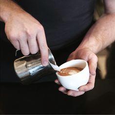 Little Red Fox DC — Trouvé Magazine Stockist I Love Coffe, Red Fox, Coffee Break, Food Design, Little Red, Food Art, Coffee Shop, Coffee Addiction, Mugs