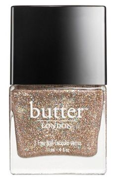"""THE most perfect kind of neutral POW!!!....""""Lucy in the Sky with Diamonds"""" butter LONDON Nail Lacquer"""