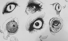 Pen & Ink Drawing Tutorials, How to draw realistic animal eyes – Hildur.K.O