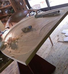 The Kanna Finish: How to Get Glass-Smooth Surfaces in Wood Without Sandpaper or Varnish - Core77