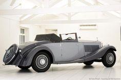 Rolls-Royce Phantom II Continental Drophead Coupe (1932) by British coachbuilders Freestone & Webb. photo Tom Wood