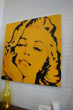 Monroe Original Artwork # 2 (roomservicestore.com)
