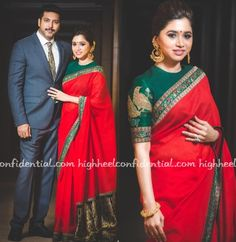 Jayam and Aarti attended day two of SIIMA with the actor wearing a custom Vivek Karunakaran suit and Aarti a floral Karen Millen gown. Earlier in the month, the couple also attended the Filmfare Awards South in Hyderabad where Kayam was seen in a Versace suit and Aarti in a red Sabyasachi sari. I wasn't …
