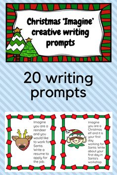 It's 5 weeks until Christmas which means it's my favourite time in the classroom. Christmas Language Arts, Christmas Essay, Learning Resources, Teaching Ideas, Creative Writing Prompts, Holiday Activities, Winter Holiday, Holiday Ideas, How To Apply