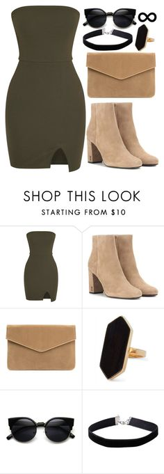 """""""Untitled #812"""" by punk-queen01 ❤ liked on Polyvore featuring Yves Saint Laurent, Jaeger and Miss Selfridge"""