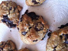 Grain free, wheat free, gluten free chocolate chip cookies