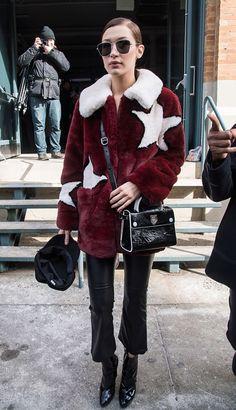 Star coat.
