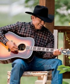 George Strait; Carrying Your Love With Me, Cheyenne, Troubador
