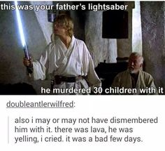 Honest Skywalker legacy