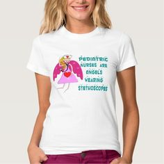 Pediatrics Nurse Angel T-T Shirt, Hoodie Sweatshirt