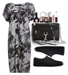 """Untitled #2991"" by abigailtaylor ❤ liked on Polyvore featuring tarte, Just Female, Ciaté, Rebecca Minkoff, Vans, Links of London and Pandora"