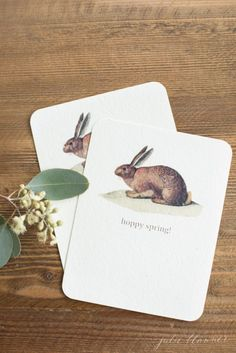 free printable cards for spring...