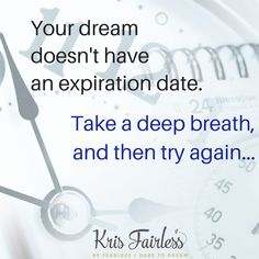 Take a deep breath, and then try again. #breathe #inspiration