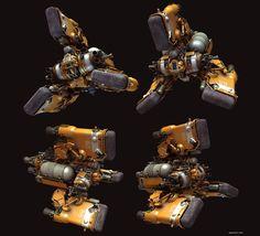 Heavy Space Tug by Paul Pepera