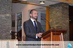 Don Gabriel Cabrera Moya, Presidente de FUNCEPT, en el discurso de apertura del acto.