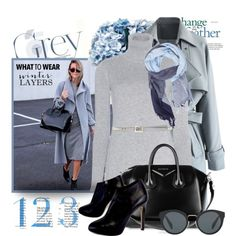 Getting the line right: Winter Layers by jan31 on Polyvore featuring мода, Loro Piana, Chicwish, Giuseppe Zanotti, Givenchy, Prada, Valentino, MANGO MAN, Privé and scarves