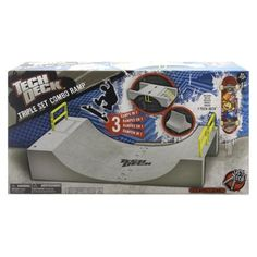 Tech Deck Triple Combo Ramp