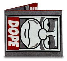 Homer Simpson Dope Tyvek Mighty Wallet