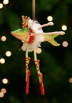 Patience Brewster~Dancing Fish Ornament