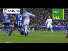 Real Madrid vs Deportivo Cristiano Ronaldo, Bale, benjenma goal.