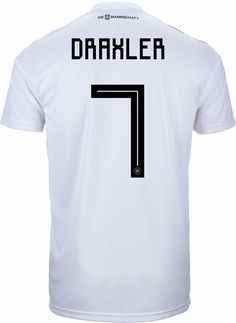0577822d7e6 2018 19 adidas Julian Draxler Germany Home Jersey. Buy it from SoccerPro!  Julian