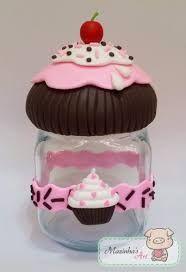 Resultado de imagem para vidros biscuit cupcake