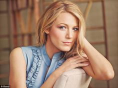 Natural: Stunning new photos have emerged of actress Blake Likely for Gucci (pictured), in...