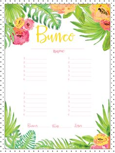 photo regarding Cute Bunco Score Sheets Printable identify 12 Excellent Bunco Rating Sheets photographs within 2017 Bunco match