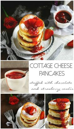 Cottage cheese pancakes, Cheese pancakes and Cottage cheese on ...