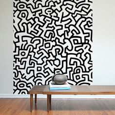 Keith Haring Pattern Wall Tiles, $45, now featured on Fab. [Keith Haring, Threadless, Blik]