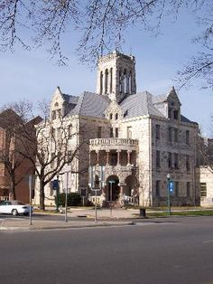 The courthouse in New Braunfels, Texas.