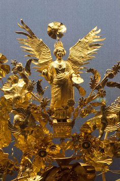 Ancient Greek golden crown