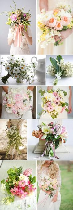 Let Your Love Grow. from rock your wedding blog. Love these spring greens